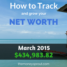 How to Track and Grow Your Net Worth - March 2015