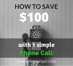How to Save $100 in 5 Minutes