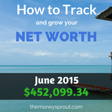 How to Track and Grow Your Net Worth - June 2015