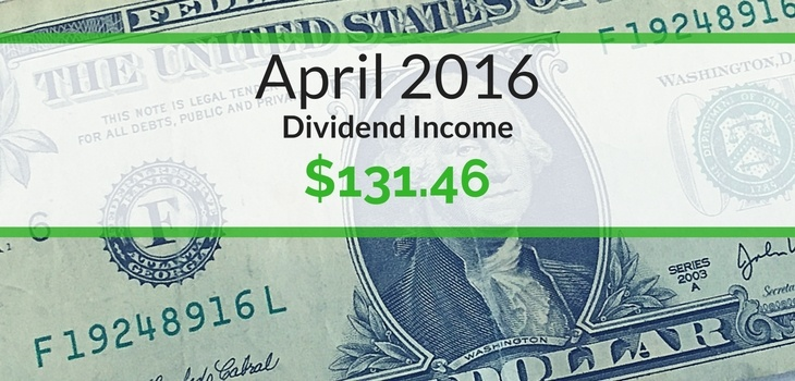 April 2016 Dividends