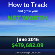 How to Track and Grow Your Net Worth - June 2016