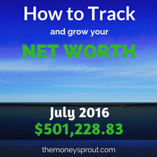 How to Track and Grow Your Net Worth - July 2016