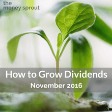 The fastest way to grow your dividend income is through new investments.