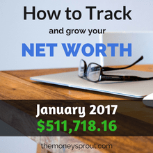How to Track and Grow Your Net Worth - January 2017
