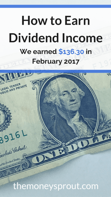 How We Earned $136.30 in Dividends in February 2017