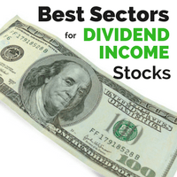 The Best Sectors to find Top Dividend Income Stocks