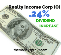 Realty Income Corp (O) Gives Shareholders a Second Raise in 2017
