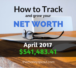 How to Grow Net Worth - April 2017 Results