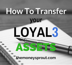 How did we transfer our LOYAL3 assets to a different broker?