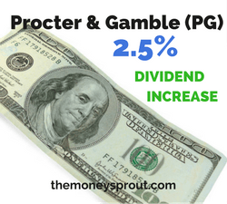 Procter & Gamble Rewards Shareholders with 2.5% Dividend Increase