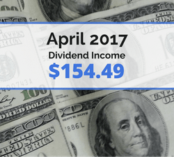 How we earned $154.49 in dividends for April 2017