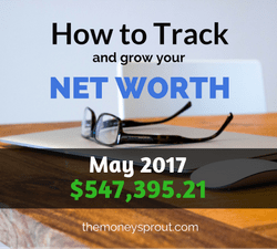 How to Grow Net Worth - May 2017 Results