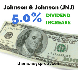 Johnson & Johnson Increases Dividend by 5%