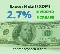 Exxon Mobile Gave My Family a 2.7% Raise