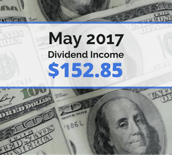 How we earned $152.85 in dividends for May 2017