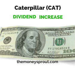 Caterpillar Increases Quarterly Dividend by 1.3%