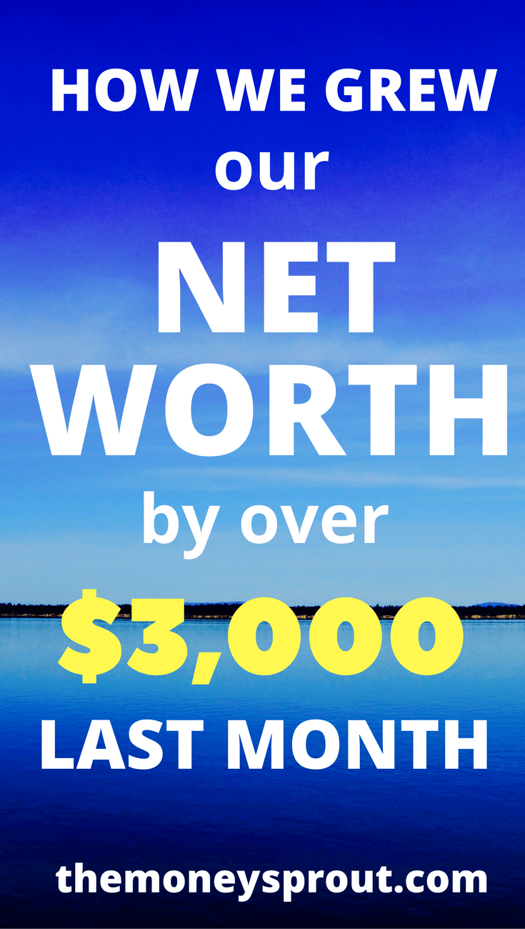 How Did We Grow our Net Worth by Over $3,000 Last Month?