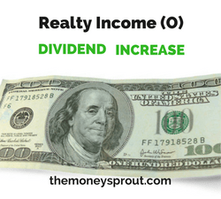 Realty Income Increases Monthly Dividend by .24%