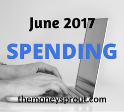 Our June 2017 Spending Budget