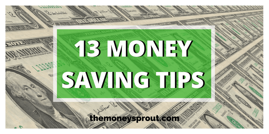 13 Ways to Save Money Today