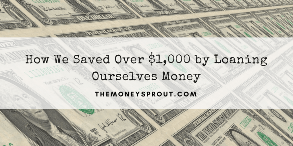How to Save Over $1,000 by Loaning Yourself Money