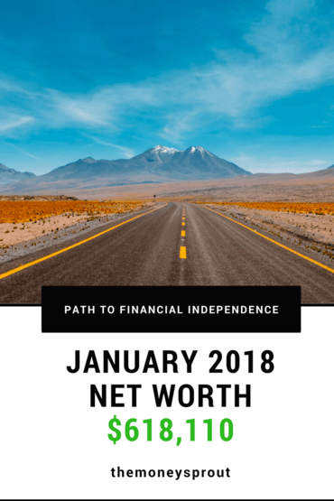 How Did We Grow Our Net Worth to $618,110 in January 2018?