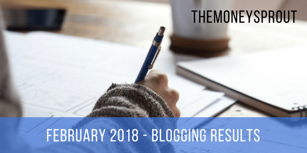 February 2018 Blogging Income Results