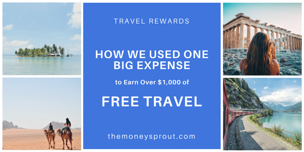 How We Earned $1,700 in Free Travel by Paying Off a Large Expense