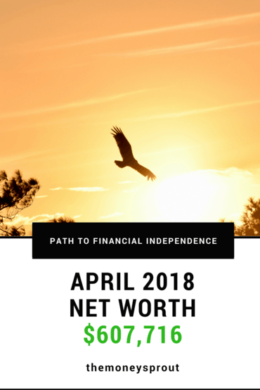 How Did We Grow Our Net Worth to Over $607,000 in April 2018?