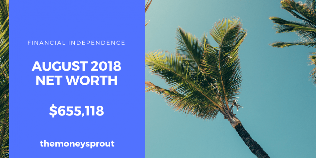 How We Grew Our Net Worth in August 2018