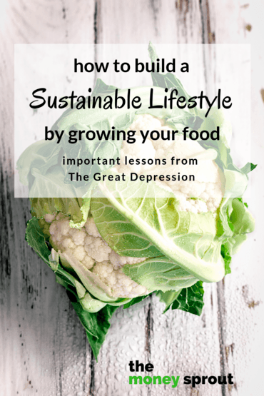 Lessons from The Great Depression - Growing & Raising Your Own Food