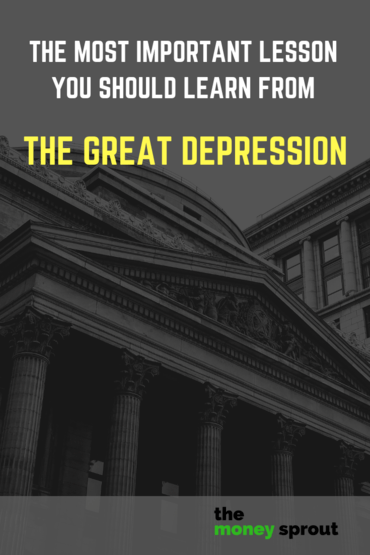 An Important Lesson Learned from The Great Depression