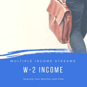 Earning Income from a W-2 Paying Job