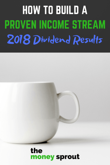 How to Build a Sustainable Income Stream - 2018 Dividend Results