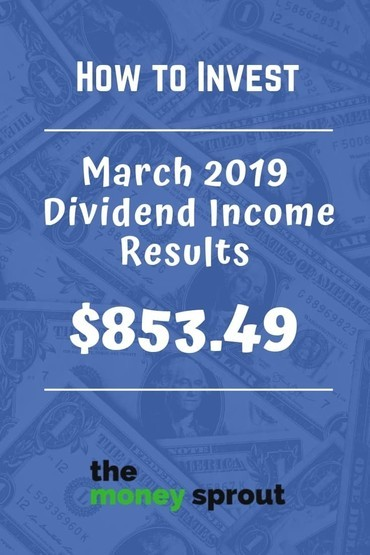 How We Earned Over $850 in Dividend Income Last Month